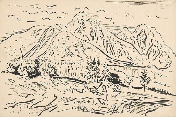 Arnold Peter Weisz-Kubínčan - Horská krajina