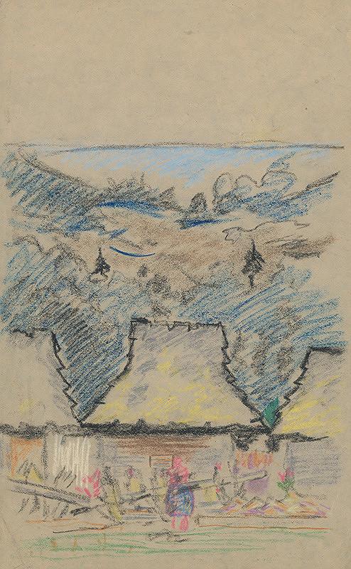 Arnold Peter Weisz-Kubínčan - Náčrt krajiny