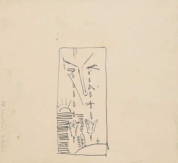 Arnold Peter Weisz-Kubínčan – Náčrt