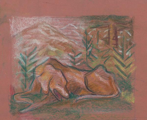 Arnold Peter Weisz-Kubínčan – Pes v lese