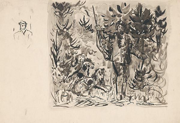 Arnold Peter Weisz-Kubínčan – Poľovník