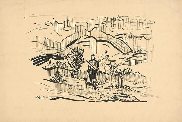 Arnold Peter Weisz-Kubínčan – Poľovník v krajine