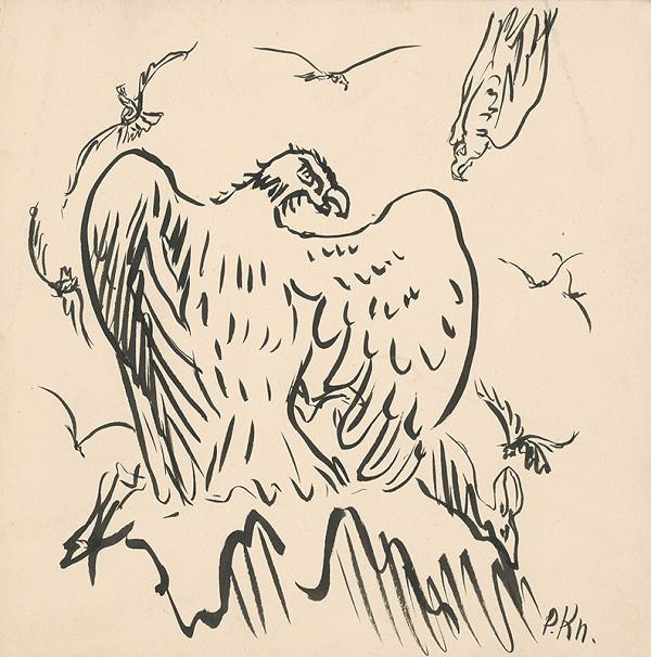 Arnold Peter Weisz-Kubínčan - Náčrt orlov