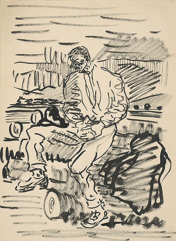 Arnold Peter Weisz-Kubínčan – Odpočinok na poli