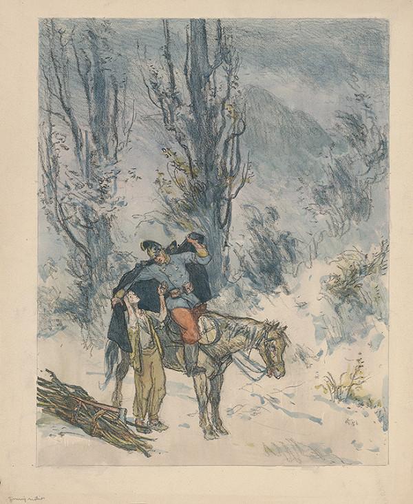 Jaroslav Vodrážka - Zimný motív