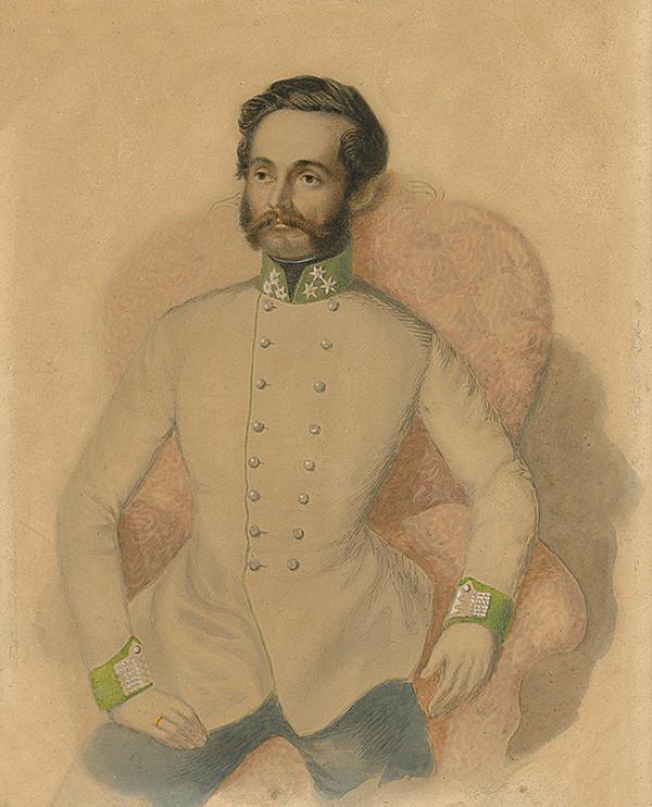 Stredoeurópsky maliar z 19. storočia - Portrét muža
