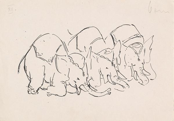 Jozef Ilečko - Tri slony