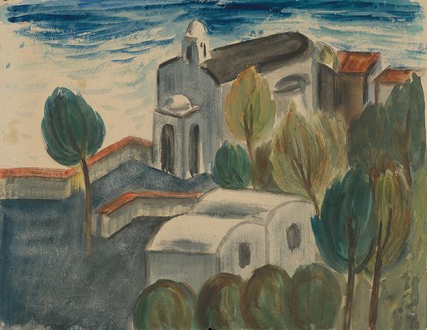 Matilda Čechová - Kostol na Capri