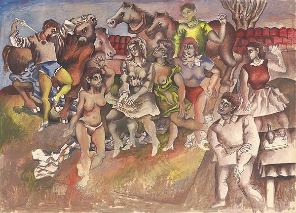 Milan Chovanec - Ľudia a zvieratá