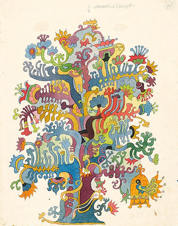 Miroslav Cipár – Biela kňažná - Strom