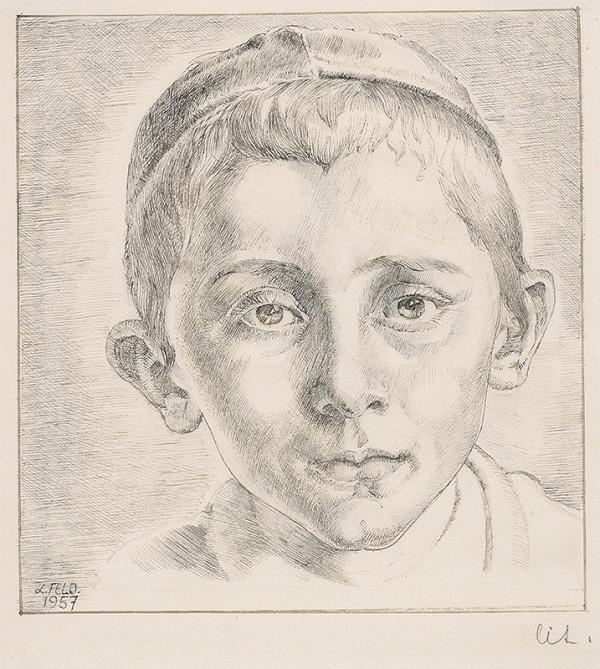 Ľudovít Feld - Hlava chlapca
