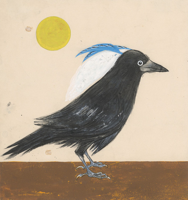 Ladislav Guderna - Vtáčik s modrou chochoľkou