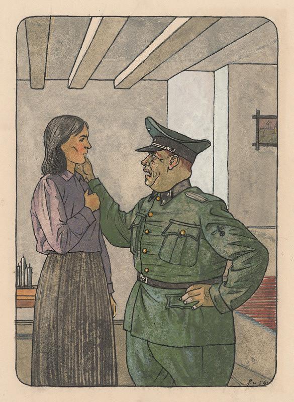 Ladislav Guderna - Hitlerovský vojak a žena