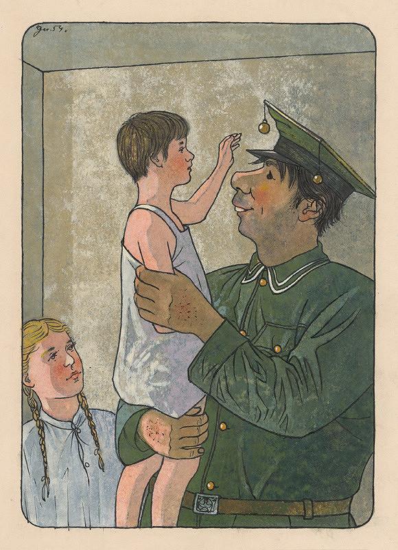 Ladislav Guderna - Vojak a deti