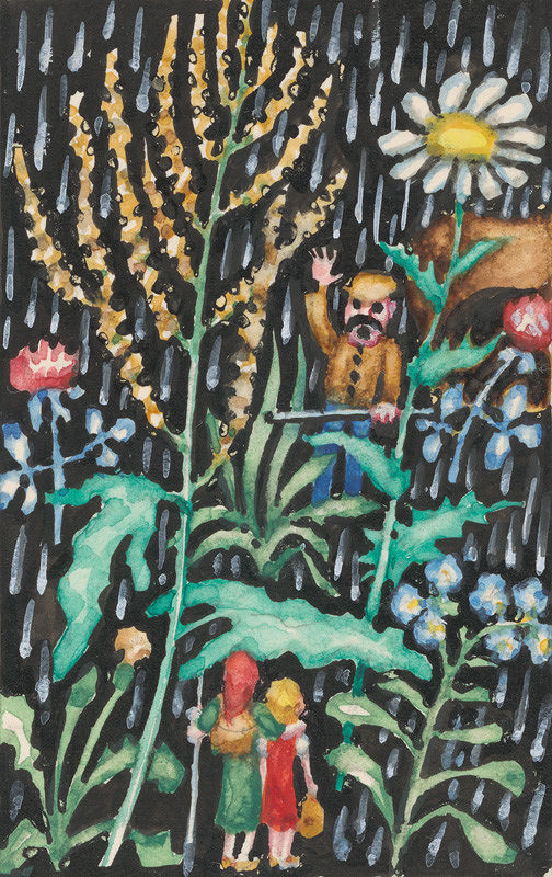 Ján Trojan – V daždi