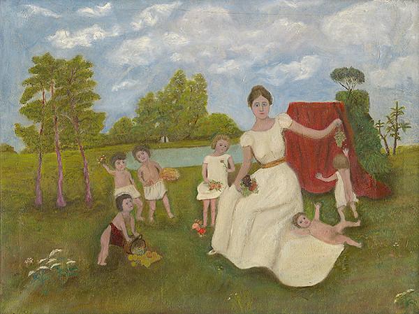 Zuzana Virághová – Matka s deťmi