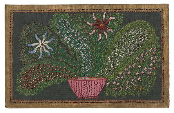 Ján Hruška - Zátišie s kvetmi