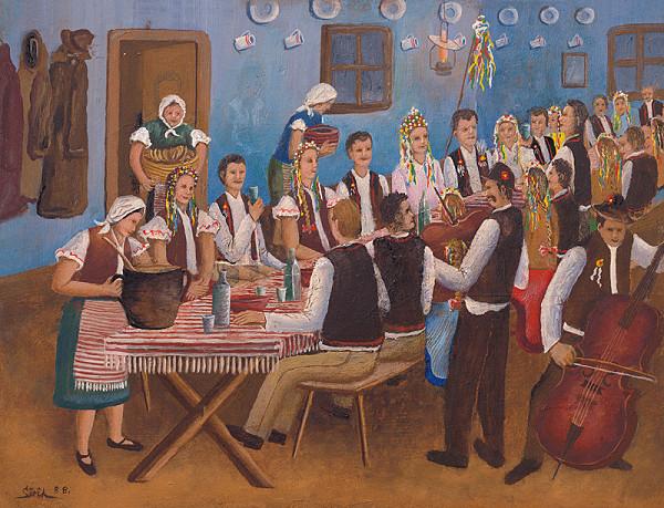Michal Sirik – Svadobná hostina