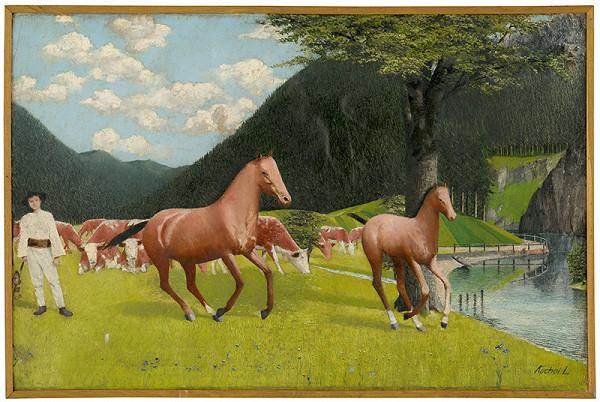 Ľudovít Kochoľ - Pastier koní