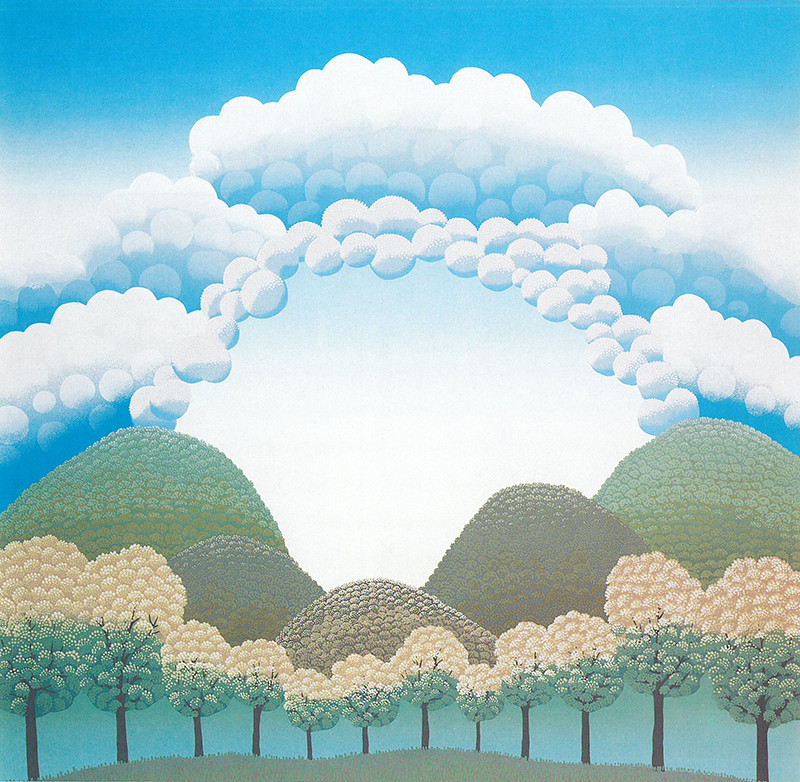 Ivan Rabuzin – Veľký oblak, 1990, Slovenská národná galéria