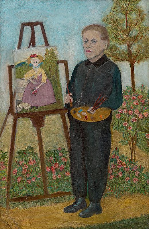 Zuzana Virághová - Autoportrét