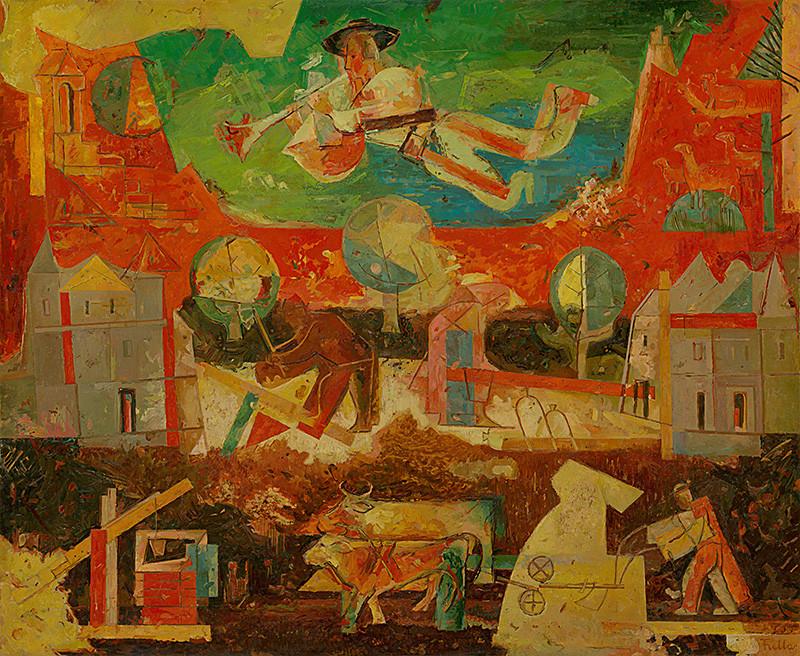 Ľudovít Fulla – Pieseň a práca, 1934 – 1935, Slovenská národná galéria