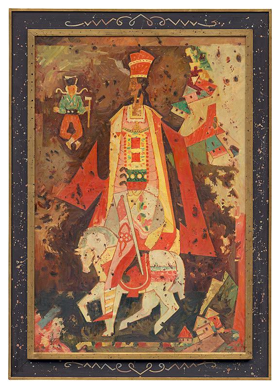 Ľudovít Fulla – Jánošík na bielom koni