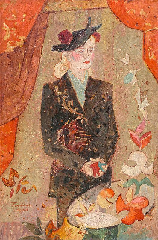 Ľudovít Fulla – Portrét umelcovej manželky