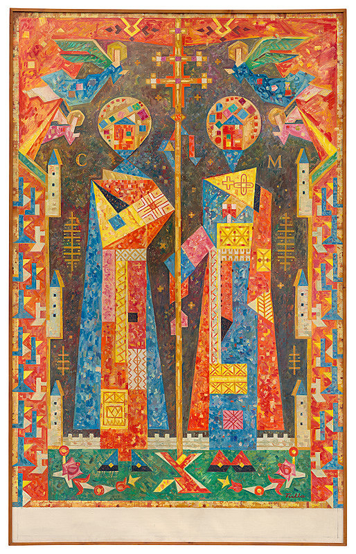 Ľudovít Fulla – Cyril a Metod