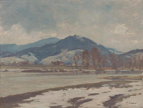 Martin Tvrdoň – Posledný sneh pri Hrone