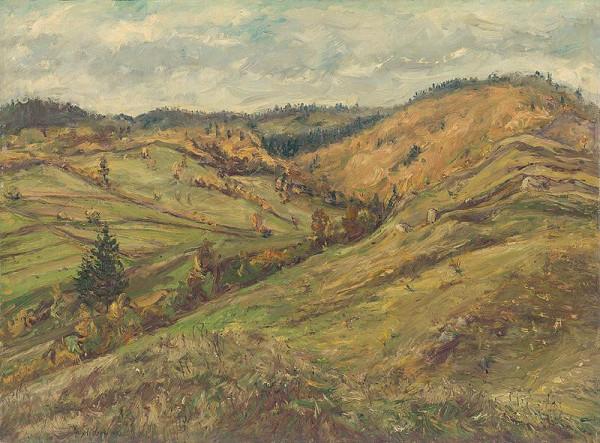 František Studený - Jeseň v horách - okolie Vrútok