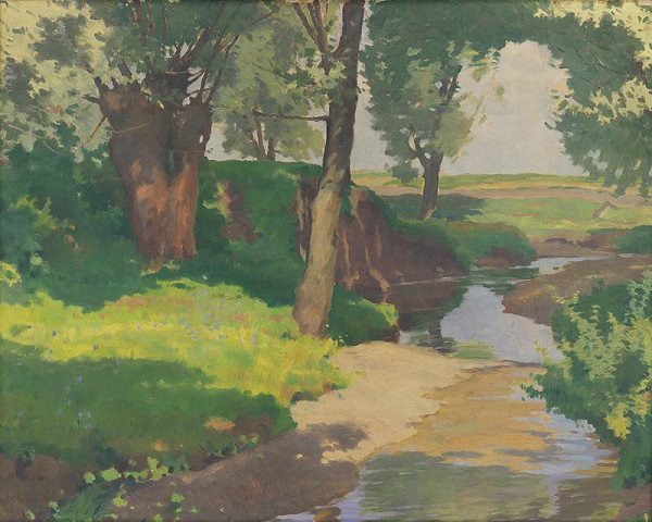 Július Koreszka - Lesný potok