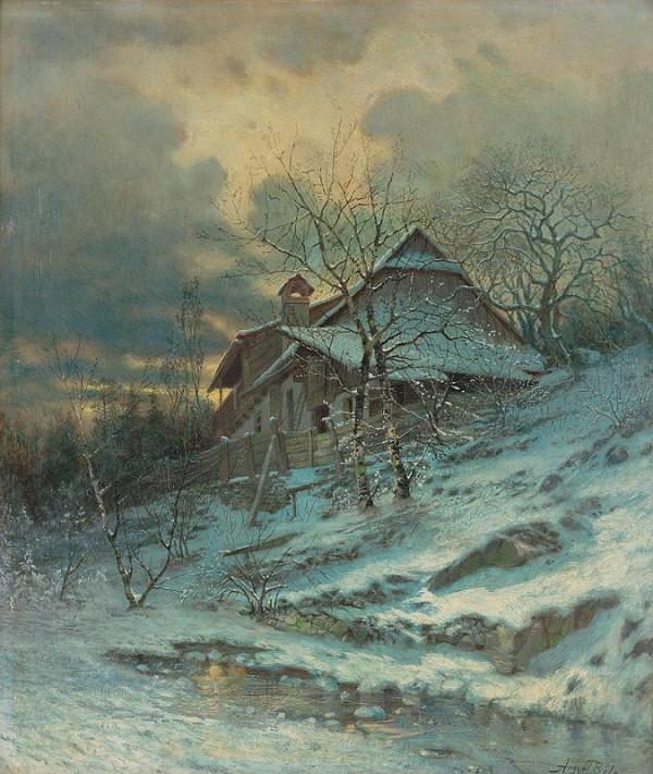 Vojtech Angyal - Zimný motív
