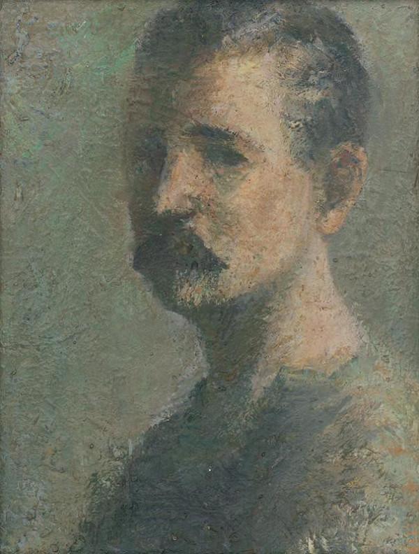 Ján Mudroch - Autoportrét