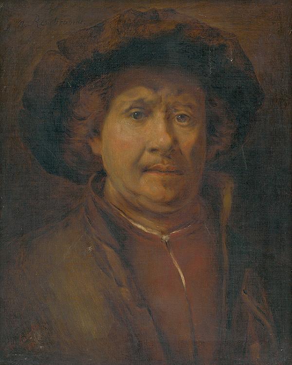Rembrandt van Rijn - Vlastná podobizeň