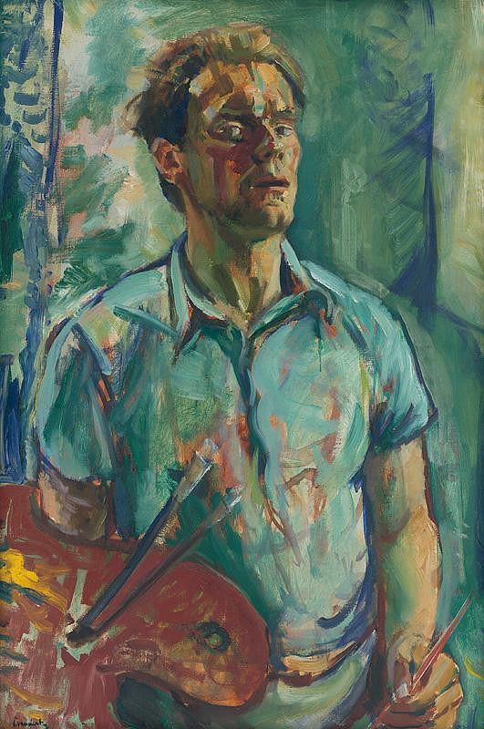Ladislav Čemický - Autoportrét