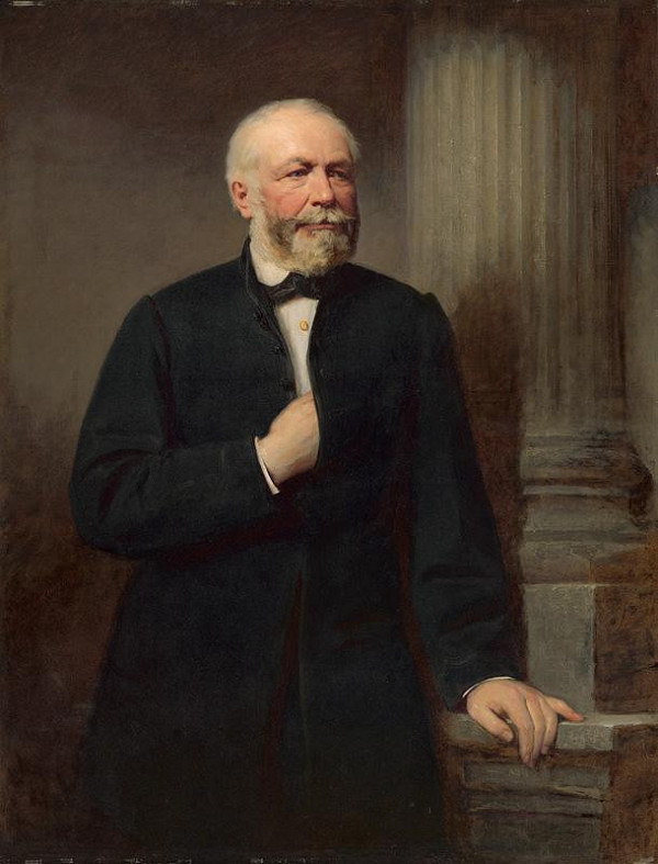 Gyula Benczúr – Podobizeň košického bankára Karola Fiedlera