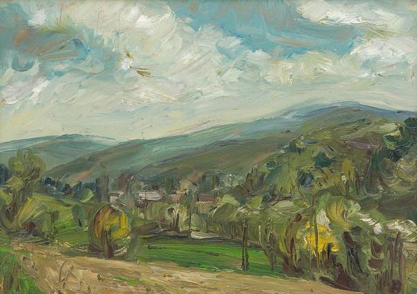 František Studený – Jar v Slávičom údolí