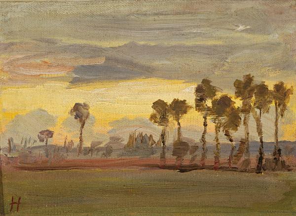 Jozef Hanula - Západ slnka