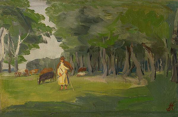 Jozef Hanula – Pastva v Kaloči