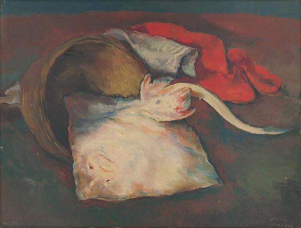 Vojtech Erdélyi – Zátišie s rybou