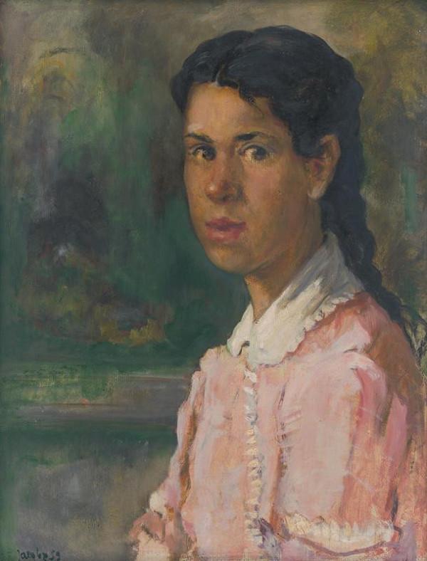 Július Jakoby - Podobizeň dievčaťa