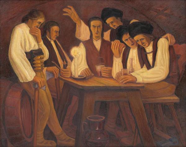 Janko Alexy – Pijú chlapci, pijú