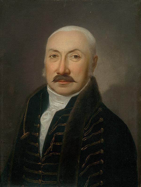 Ján Jakub Stunder - Podobizeň zvolenského podžupana Ladislava Beniczkého