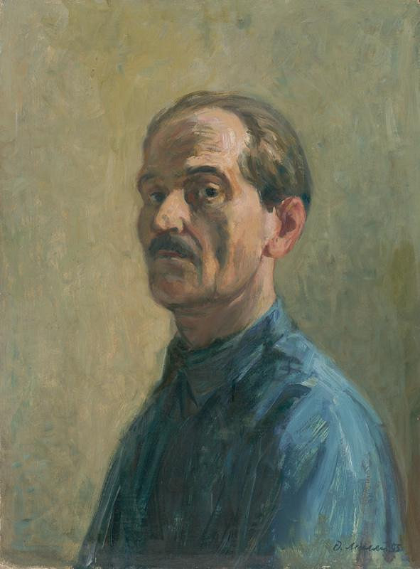Dezider Milly - Autoportrét