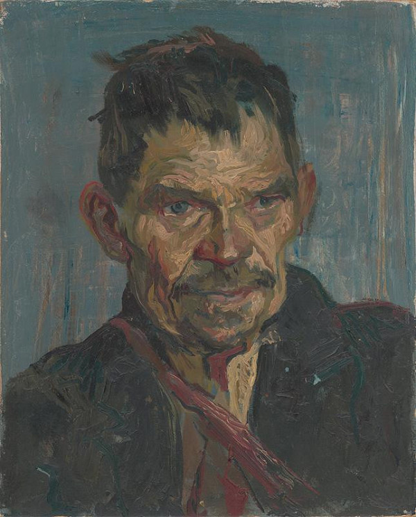 Jaroslav Vodrážka – Štúdia hlavy starca