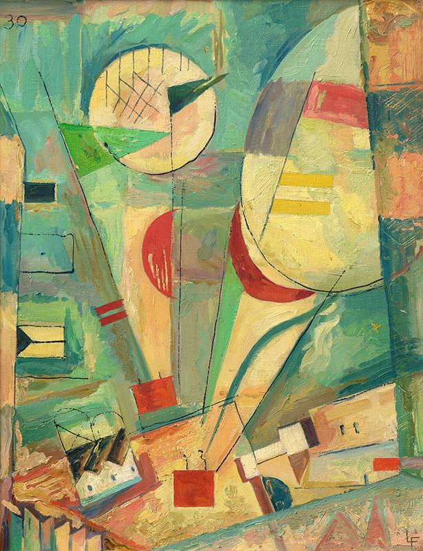 Ľudovít Fulla – Balóny, 1930