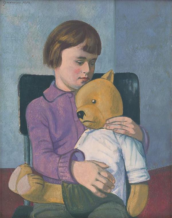 Ladislav Guderna – Dievčatko s medvedíkom