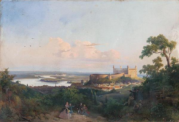 Rudolf Swoboda – Pohľad na Bratislavu