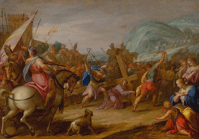 Hans von Aachen – Nesenie kríža, 1587, Slovenská národná galéria